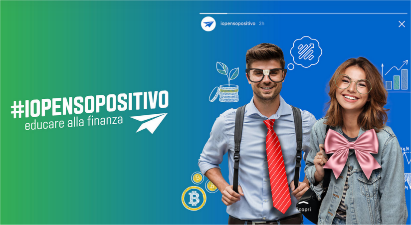 #ioPensoPositivo: educazione finanziaria per gli studenti